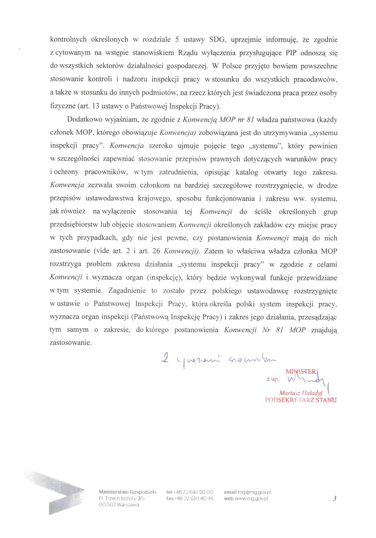 swoboda działalności gospodarczej w polsce