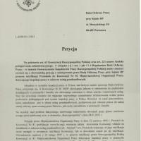 Petycja SIPRP z 8.05.2013r. - strona 1 z 2