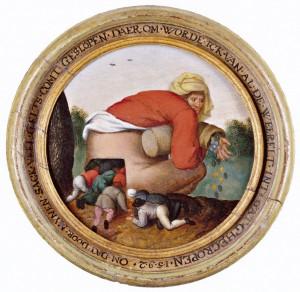 Pieter-Brueghel-mlodszy-pochlebcy