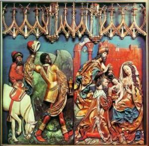 Boże Narodzenie - Ołtarz Wita Stwosza w Krakowie