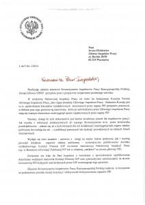 Pismo siprp - strona 1 z 2