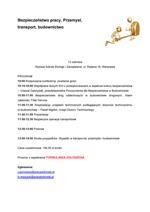 Microsoft Word - Bezpieczeñstwo pracy_KONFERENCJA_-2