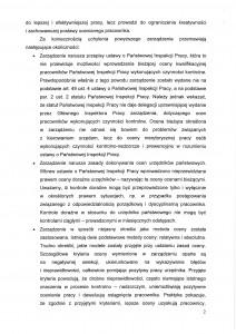 """wniosek MKK NSZZ """"Solidarność"""" przy PIP  - str. 2 z 4"""