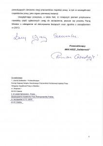 """wniosek MKK NSZZ """"Solidarność"""" przy PIP  - str. 4 z 4"""