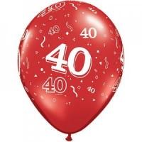 40th-ruby-wedding-anniversary-latex-balloon